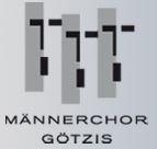Männerchor Götzis seit 1900